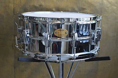 LUDWIG - LB402BWM CHROME OVER BRASS WITH P86 OCCASION