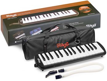 STAGG - MELODICA 32 TOETS ZWART