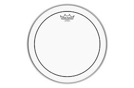REMO - PS-0306-MP PINSTRIPE CLEAR MARCHING DRUMVEL 6""