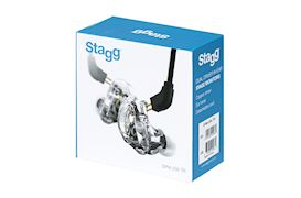 STAGG - SPM-235 TR 2 WAY DRIVER IN-EAR MONITOR TRANSPARANT