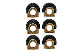 LATIN PERCUSSION - LP628G SHELLPROTECTORS SET (6PCS) GOLD