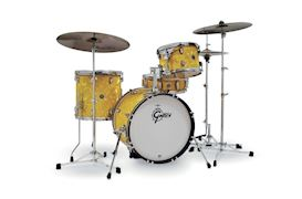 GRETSCH - CT1-J484-YSF CATALINA CLUB JAZZ SET SATIN YELLOW FLAME