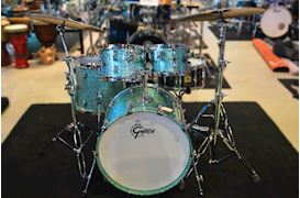 GRETSCH - RN2-E8246 RENOWN MAPLE DRUMSTEL TURQUOISE PREMIUM SPARKLE