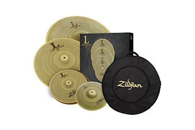 "ZILDJIAN - ZILV3821 LOW80 LOW VOLUME CYMBALSET 10"", 13"", 18"",20"" & BAG"