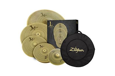"ZILDJIAN - ZILV46821 LOW VOLUME CYMBALSET 10"", 14"", 16"", 18"", 20"" + BAG"