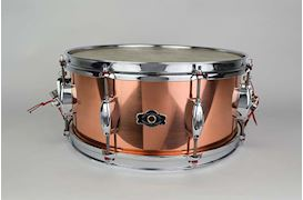DUNNETT - GEORGE WAY COPPER CSO MODEL SNARE DRUM 14X65