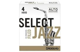 RICO - RSF10ASX4H JAZZ SELECT FILED ALT-SAX 4H 10 STUKS