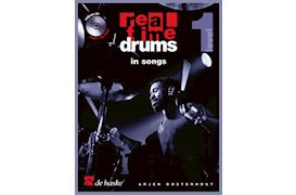 BOEK - REAL TIME DRUMS IN SONGS LEVEL 1 (BK-CD) OOSTERHOUT