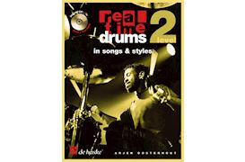 BOEK - REAL TIME DRUMS IN SONGS & STYLES LEVEL 2 (BK-CD) OOSTERHOUT