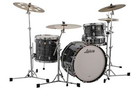 "LUDWIG - L84233AX1QWC CLASSIC MAPLE 22"" FAB - VINTAGE BLACK OYSTER"