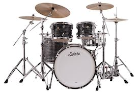 "LUDWIG - L88204AX1Q CLASSIC MAPLE 22"" MOD - VINTAGE BLACK OYSTER"