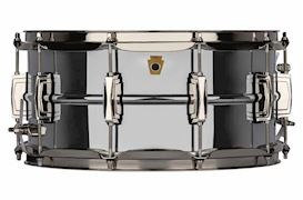 "LUDWIG - LB402BN 6.5x14 COB ""SUPER LUDWIG"" WITH NICKEL HW SNAREDRUM"