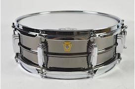 LUDWIG - 5X14 BLACK BEAUTY/SMOOTH SHELL, 8X IMPERIAL LUGS