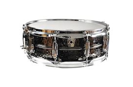 LUDWIG - 5X14 BLACK BEAUTY/ SUPRA PHONIC/ HAMMERED SHELL, IMPERIAL LU