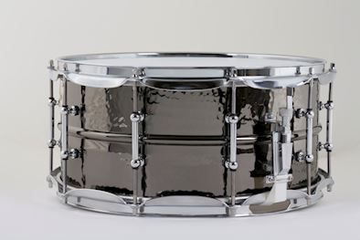 LUDWIG - LB417KT SNAREDRUM BLACK BEAUTY 6,5X14 SUPRA PHONIC HAMMERED