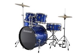 LUDWIG - LC17519 ACCENT DRIVE 5PC COMPLETE - BLUE FOIL