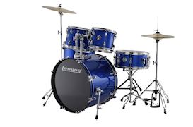 LUDWIG - LC1759 ACCENT DRIVE 5PC COMPLETE BLUE