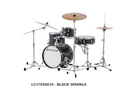 LUDWIG - LC179XX016 BREAKBEATS QUESTLOVE 4PC BLACK SPARKLE DRUMSTEL