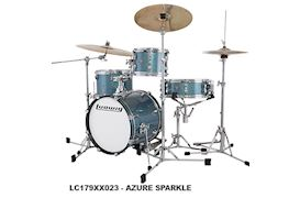 LUDWIG - LC179XX023 BREAKBEATS QUESTLOVE 4PC AZURE SPARKLE DRUMSTEL