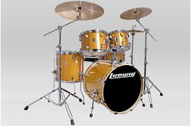 "LUDWIG - LCEE20021 ELEMENT EVOLUTION DRUMSET 20""+HW GOLD SPARKLE"