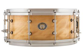 LUDWIG - 5.5x14 110TH ANN CLASSIC MAPLE SNARE - EXOTIC AVODIRE