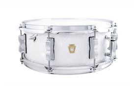 "LUDWIG - 5.5x14 LEGACY MAH ""JAZZ FEST"" SNARE - WHITE MARINE PEARL"