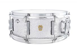 "LUDWIG - 5.5x14 LEGACY MAH  ""JAZZ FEST"" SNARE - SILVER SPARKLE"
