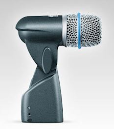 SHURE - BETA 56A SUPERCARDIOID DYNAMIC INSTR/DRUMS/PERC MICROFOON