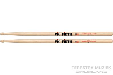 VIC FIRTH - 5B DRUMSTOKKEN AMERICAN CLASSIC HICKORY